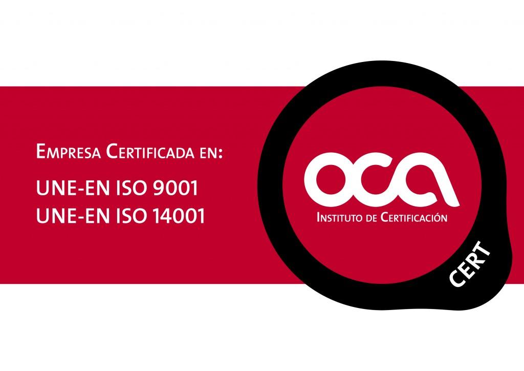 certificación calidad y medio ambiente